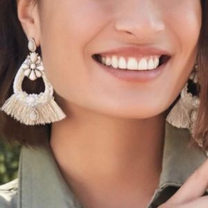 Stella & Dot Audrey Statement Earrings